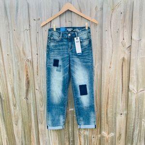 Levi's DENIZEN Modern Slim Cuffed Jeans #Pacthwork